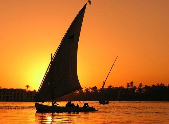 falucca on the Nile